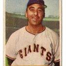 1954 Bowman baseball card #105 Sal Maglie - good