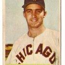 1954 Bowman baseball card #102 Billy Pierce F/G