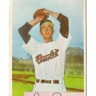 1954 Bowman baseball card #133 Duane Pillette VG+
