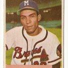 1954 Bowman baseball card #224 Bill Bruton VG