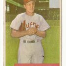 1954 Bowman baseball card #223 Steve Ridzik - good
