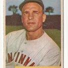 1954 Bowman baseball card #172 (B) Andy Seminick VG