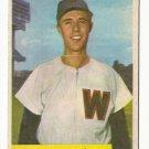 1954 Bowman baseball card #168 Ed Fitzgerald VG/EX