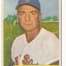 1954 Bowman baseball card #178 Del Wilber VG