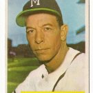 1954 Bowman baseball card #176 Vern Bickford VG+
