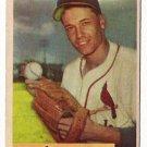 1954 Bowman baseball card #158 Stu Miller VG