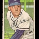 1952 Bowman baseball card #226 Alex Kellner G/VG