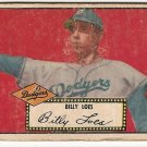1952 (original) Topps baseball card #20 (B) Billy Loes fair black back