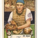 1952 (original) Topps baseball card #17 Jim Hegan G/VG red back