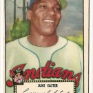 1952 (original) Topps baseball card #24 Luke Easter VG/EX black back
