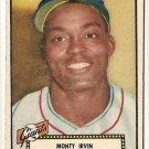 1952 (original) Topps baseball card #26 Monte Irvin VG black back