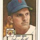 1952 (original) Topps baseball card #25 (B) Johnny Groth VG/EC black back