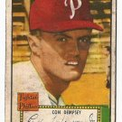 1952 (original) Topps baseball card #44 Con Dempsey good red back