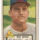 1952 (original) Topps baseball card #38 Wally Westlake good black back