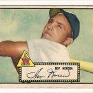 1952 (original) Topps baseball card #40 Irv Noren G/VG black back