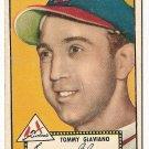 1952 (original) Topps baseball card #56 Tommy Glaviano VG black back