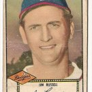 1952 (original) Topps baseball card #51 (C) Jim Russell F/G black back