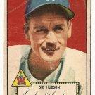 1952 (original) Topps baseball card #60 (B) Sid Hudson good red back