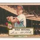 1952 (original) Topps baseball card #92 (C) Dale Mitchell G/VG red back