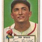 1952 (original) Topps baseball card #109 Ted Wilks G/VG