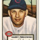 1952 (original) Topps baseball card #142 (B) Harry Perkowski VG/EX