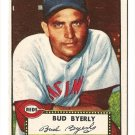1952 (original) Topps baseball card #161 Bud Byerly NM