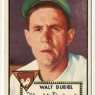 1952 (original) Topps baseball card #164 Walt Dubiel VG/EX