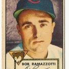1952 (original) Topps baseball card #184 (C) Bob Ramazzotti G/VG