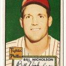 1952 (original) Topps baseball card #185 Bill Nicholson VG/EX