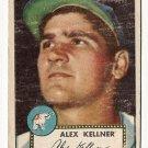 1952 (original) Topps baseball card #201 Alex Kellner F/G