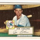 1952 (original) Topps baseball card #202 Joe Collins VG