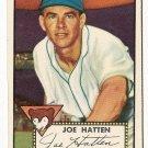 1952 (original) Topps baseball card #194 Joe Hatten EX/NM
