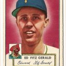 1952 (original) Topps baseball card #236 (B) Ed Fitzgerald EX/NM