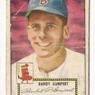 1952 (original) Topps baseball card #247 Randy Gumpert fair