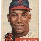 1953 Topps baseball card #2 (C) Luke Easter G