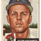 1953 Topps baseball card #8 (D) Clem Koshorek good, Pittsburgh Pirates