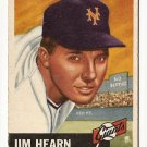 1953 Topps baseball card #38 (C) Jim Hearn good New York Giants