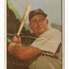 1953 Bowman COLOR baseball card #61 George Kell good