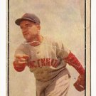 1953 Bowman COLOR baseball card #138 Bubba Church P/F