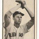 1953 Bowman B/W Black & White baseball card #2 Willard Nixon EX