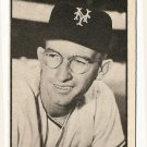 1953 Bowman B/W Black & White baseball card #3 Bill Rigney EX