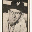 1953 Bowman B/W Black & White baseball card #3 Bill Rigney EX