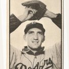 1953 Bowman B/W Black & White baseball card #52 Ralph Branca EX