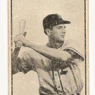 1953 Bowman B/W Black & White baseball card #43 Hal Bevan P/F