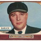 1955 Bowman baseball card #265 (B) Al Barlick (Umpire) NM