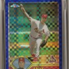 2003 Topps Chrome Refractor #121 Andy Benes Box Topper card #36/50