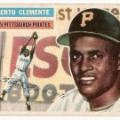 1956 Topps baseball card #33 Roberto Clemente VG/EX Pittsburgh Pirates