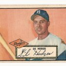 1952 (original) Topps baseball card #36 Gil Hodges VG black back