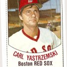 1977 Hostess baseball card #4 (B) Carl Yastrzemski Boston Red Sox