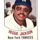 1977 Hostess baseball card #3 (B) Reggie Jackson New York Yankees